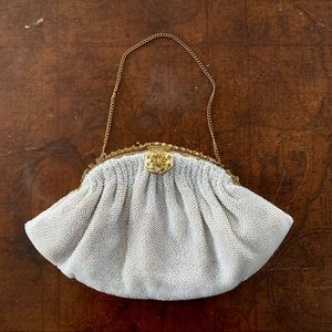 {Vintage} French beaded clutch